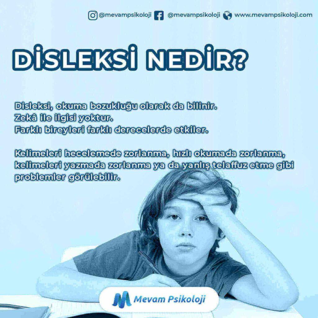 Öğrenme Güçlüğü ( Disleksi ) Nedir?